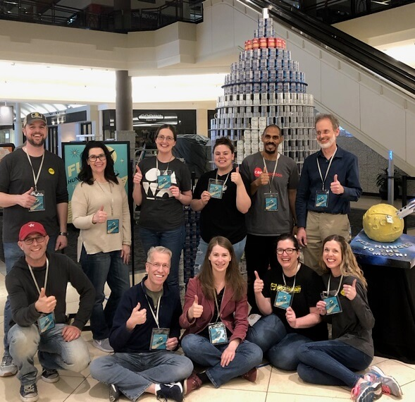 pella oklahoma team gives back and wins award for best can structure
