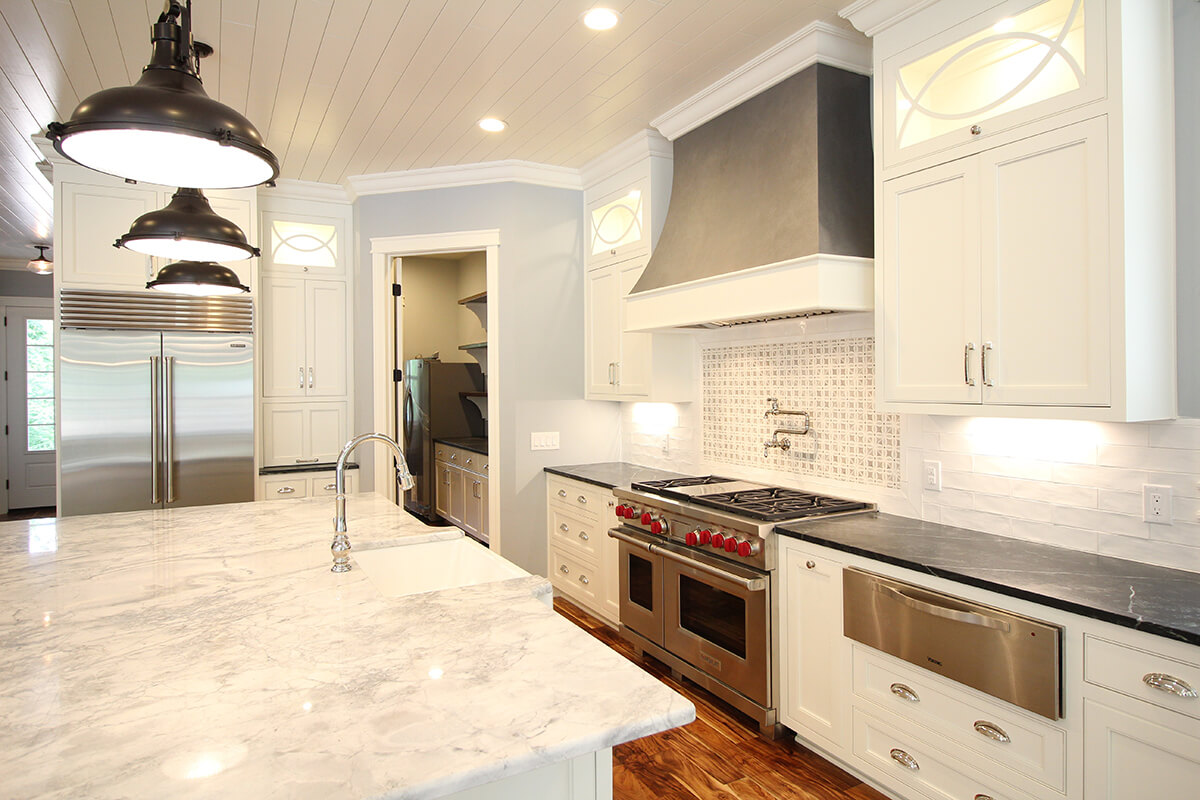 Royalty Custom Homes - Kitchen to the Butler's Pantry