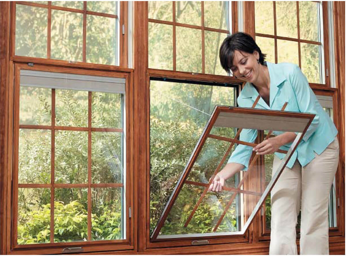 Easily change the style of your Pella wood windows