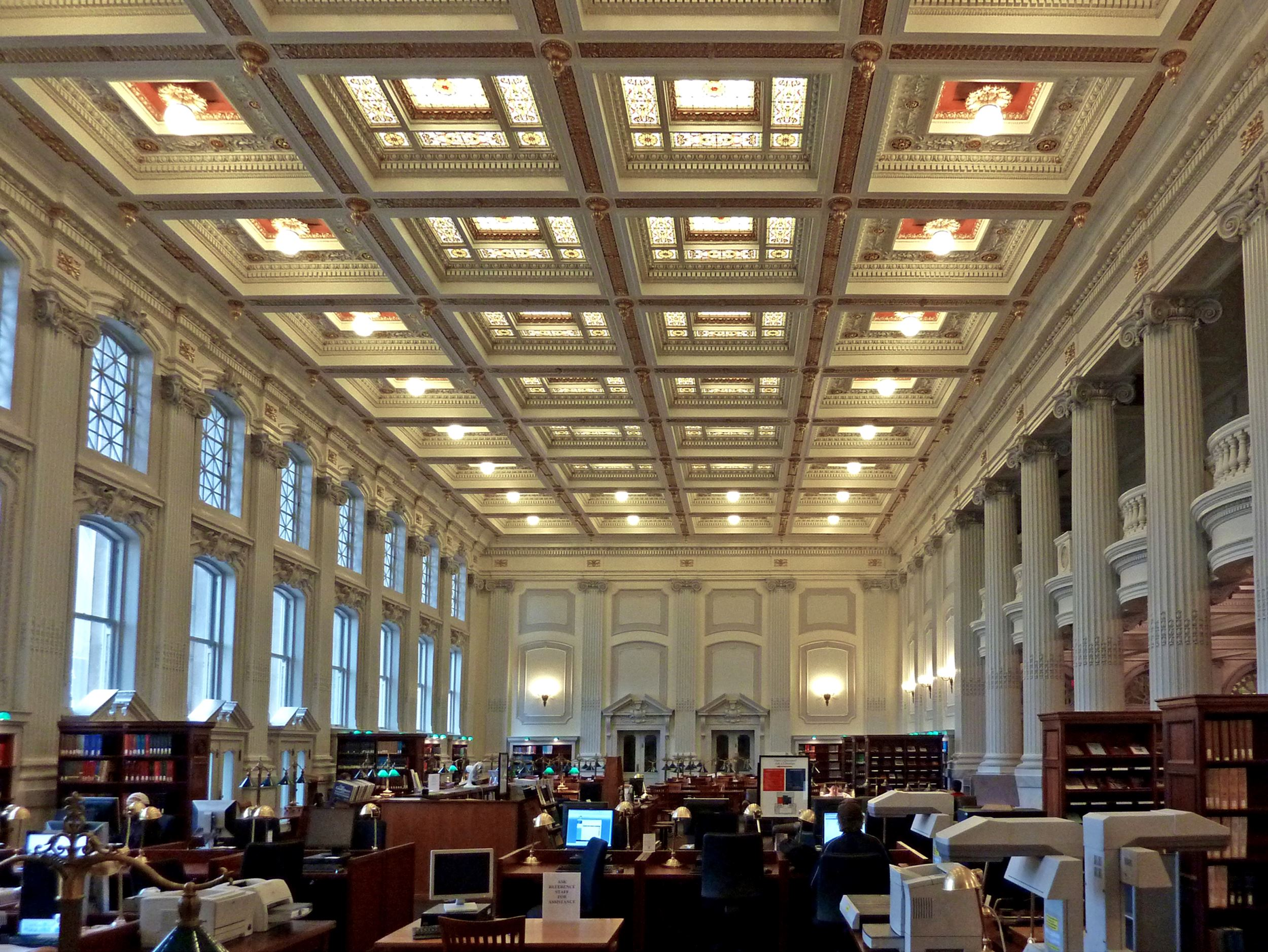 Reading room, Wisconsin Historical Society - Presented by Pella Windows & Doors of Wisconsin