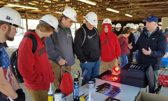 big dig event heat lamp demo