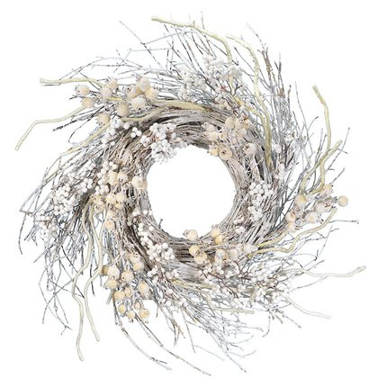white branch wreath from all modern