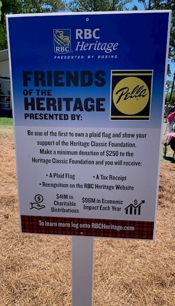 Pella Windows proudly presents RBC Heritage Friends of the Heritage program
