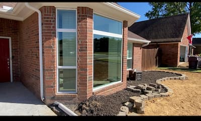 Beautiful Vinyl Windows Installed