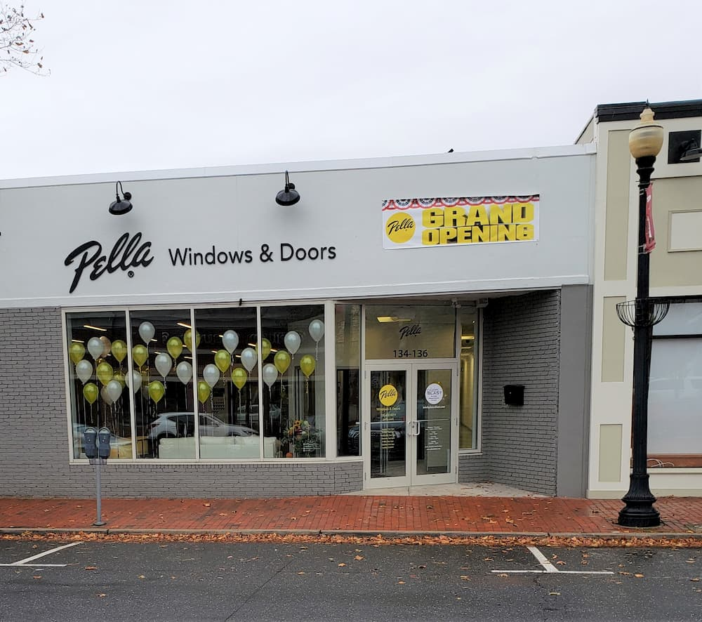 Exterior view of the the Pella Experience Center in Red Bank, New Jersey