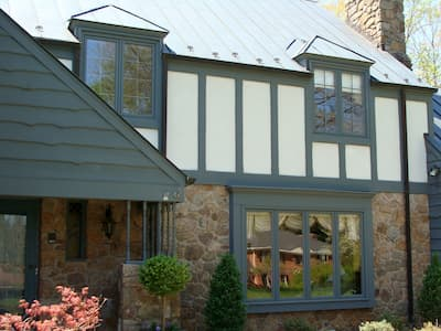 Casement Windows Updated in a German-Style Home