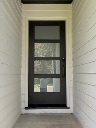 Durham Home Gets A Front Door Makeover