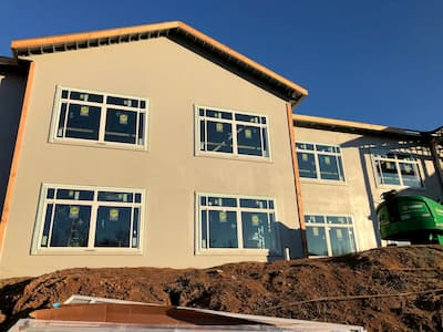 Fiberglass Windows Add Beauty to Healthcare Building