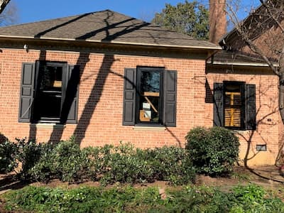 Charlotte Home Gets a Facelift with Black Wood Architect Series Windows