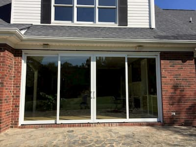Sliding Glass Doors Creates a Brand New Patio View
