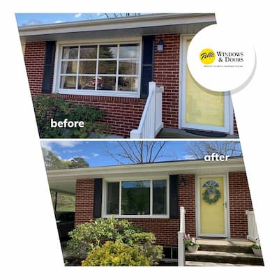 Updating 1960's Brick Ranch with Vinyl Windows
