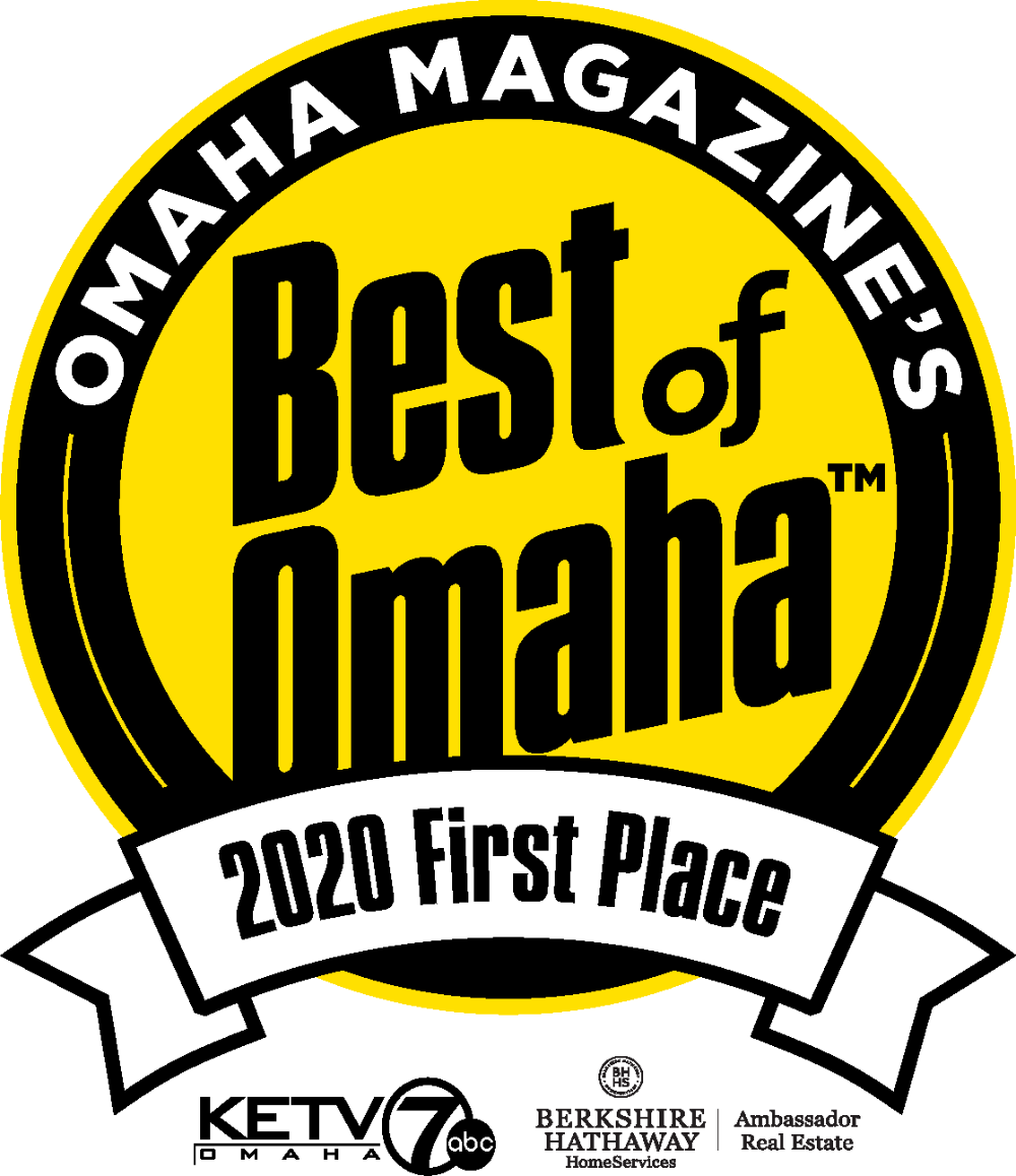 Omaha Magazine's Best of Omaha 2020 first place award logo