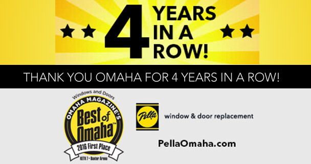 Best of Omaha Winner - 4 years in a row!