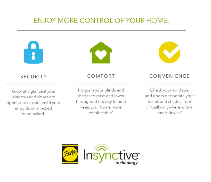 Enjoy more control of your home