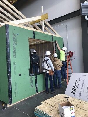 Bringing Pella Expertise to Hands-on Construction Class