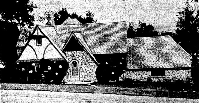 The home at 9645 N 29th st. upon completion in 1939. Photo Cred: Omaha World Herald