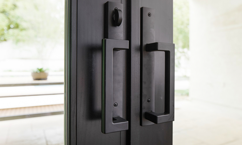 Pella Door Hardware Detail