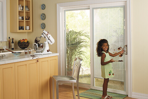 The Advantages Of Sliding Doors With Built In Blinds Pella Branch