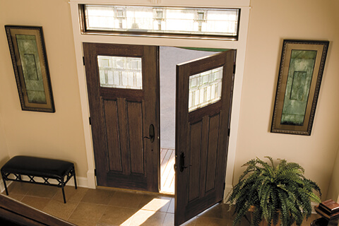 What is an average size for an entry door?