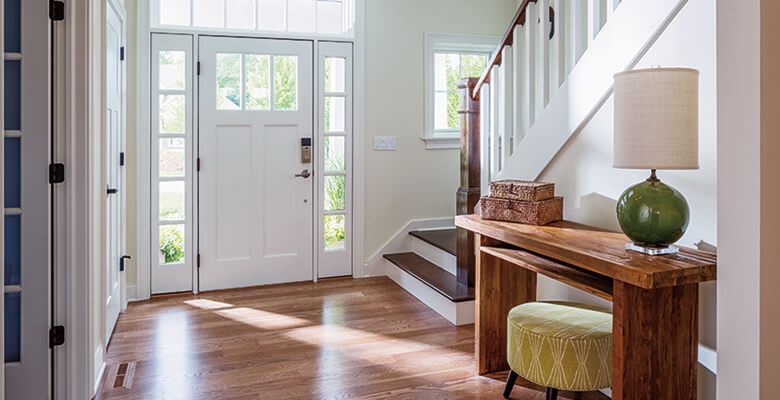 Compare entry door materials: fiberglass vs wood vs steel