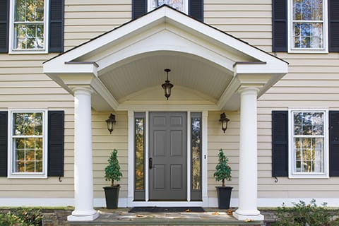 Getting a handle on entry door costs pella branch blog for Cost of fiberglass