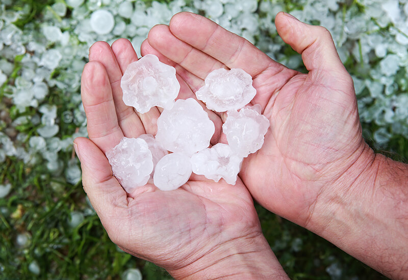 Hail damage - what you need to know