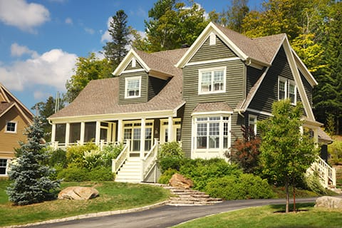 Craftsman style windows