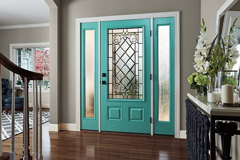 Feature the beautiful details in your entry door