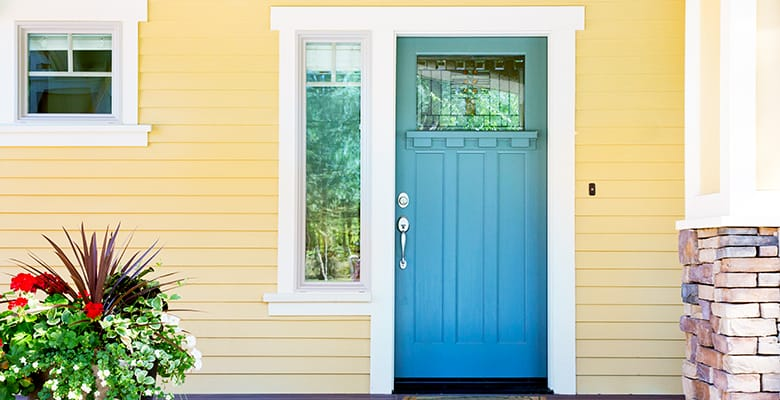 Color inspiration - Teal Front Doors
