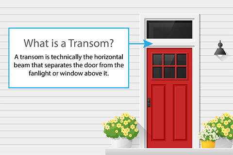 What is a Transom?