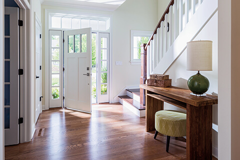 Beautiful Placing A Window Above The Entrance In A Residential Space Is Not A New  Idea, As Transom Windows Have Been Used To Add A Dramatic Element To  Entryways For ...