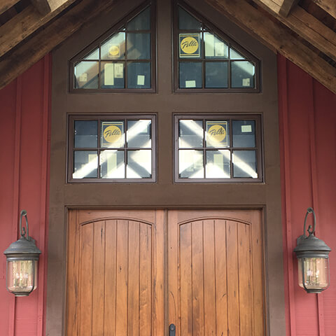 A beautiful entryway door in Pennsylvania
