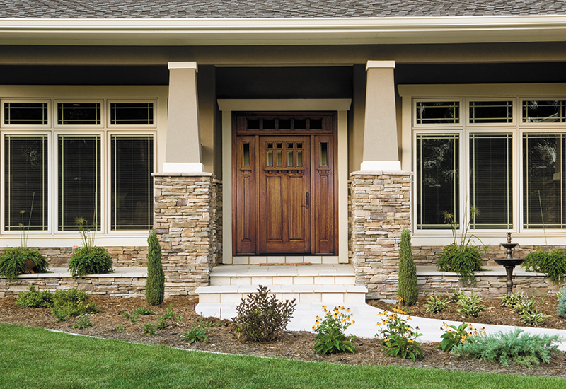 Choosing a wood entry door