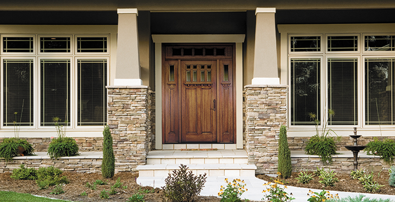 Should I install a wood entry door?