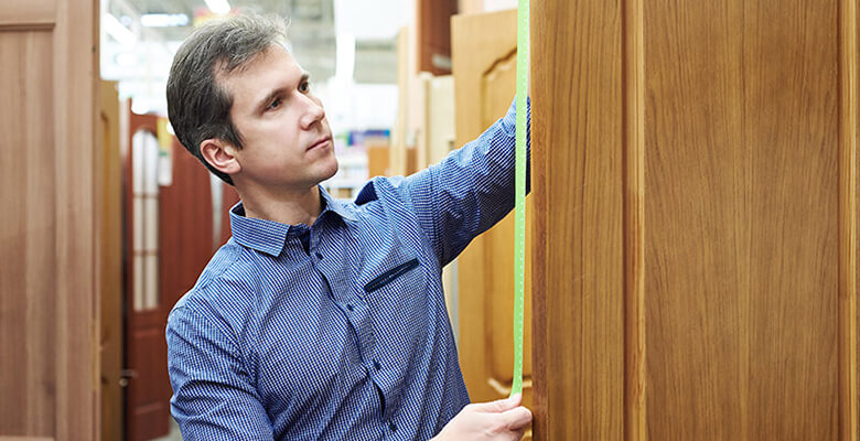 How to measure a door for replacement
