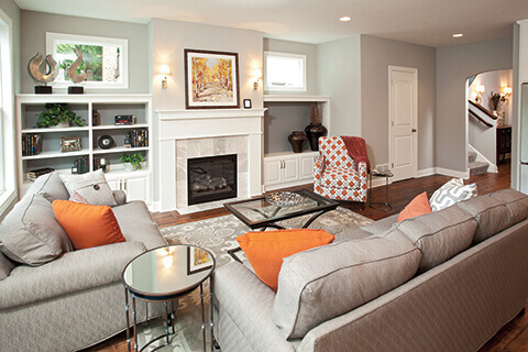 Integrate color in your existing home