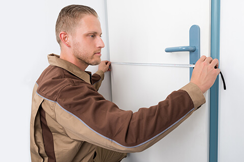 Measure your door before replacing the handle