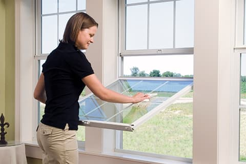 Window styles for easy cleaning and maintenance