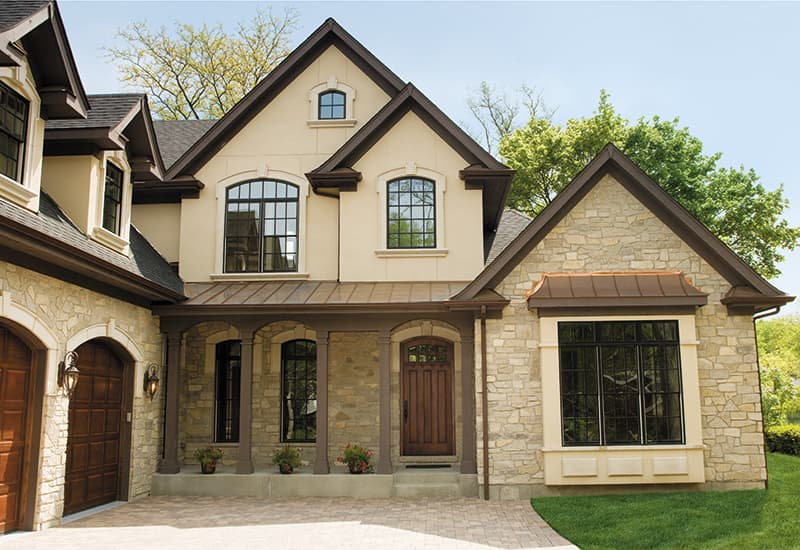 Black Exterior Windows