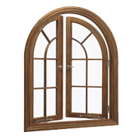 Push-out French casement window