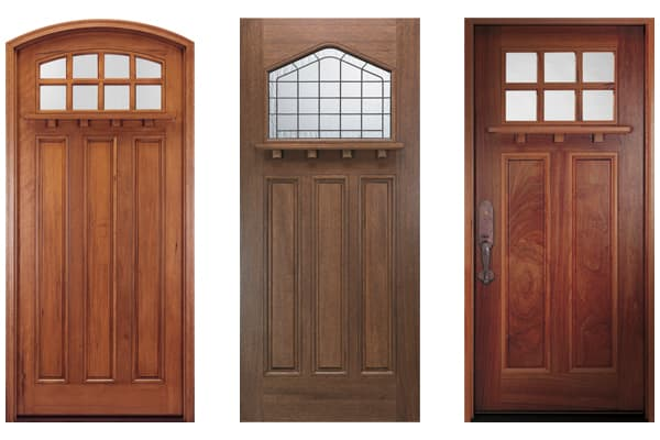 Craftsman Style Entry Door Examples