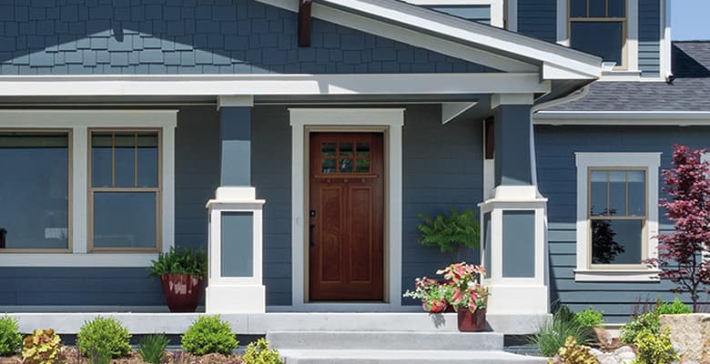 Real-Life Examples of Craftsman Style Front Doors