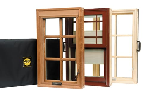 Selecting window frame materials