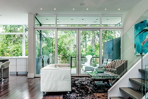 Bright open spaces and natural light