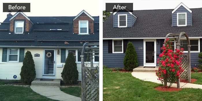 Exterior remodel - change color scheme