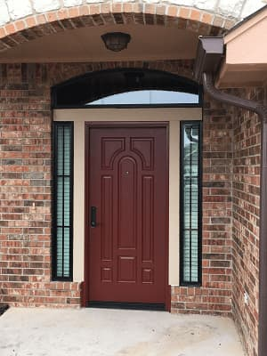 Affordable fiberglass entry doors