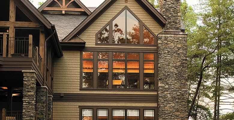 Adding Character: Give your home a stunning new look with a special shape window