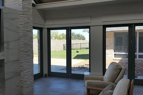 Homeowner Project - bifold patio doors