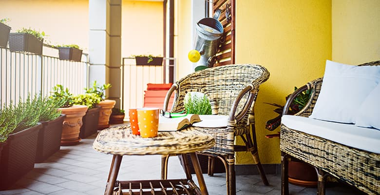 6 Space-Saving Ideas for Small Patios