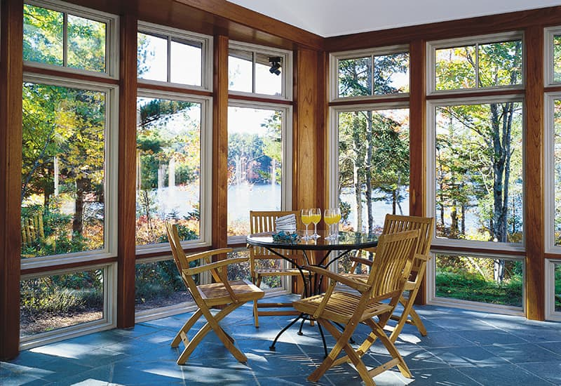 Best Windows for a Sunroom